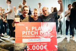 Sales2B gewinnt die Founders Foundation